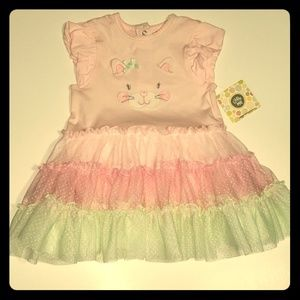 Little Me | Kitty Tutu Dress | Size 12 mos | NWT